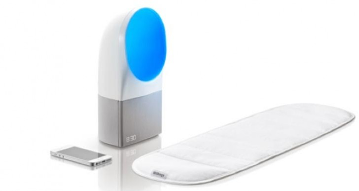 Withings at CES 2014 with Aura to improve sleep