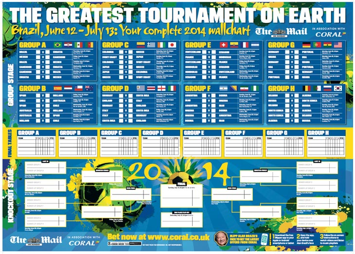 Fifa World Cup Printable Schedule | Search Results | Calendar 2015