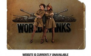 World of Tanks server down today for maintenance