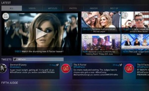 The X Factor 2014 app perfect for tablets