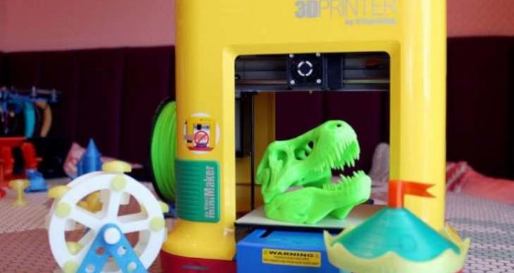 XYZ da Vinci miniMaker 3D printer targets STEM education