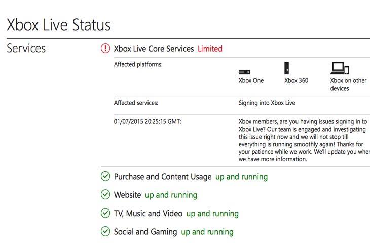 Xbox-Live-core-services-down