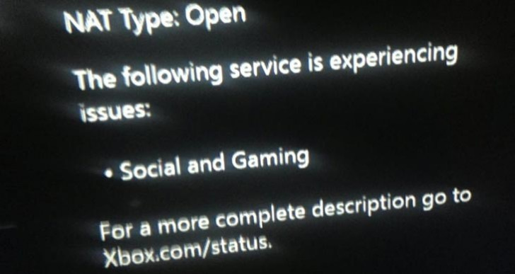 Xbox Live tweets explain why not working today