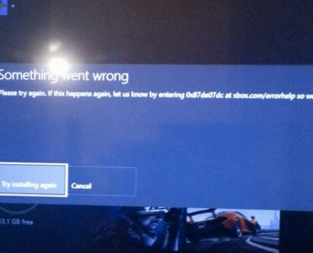 Xbox-One-error-code-0x87de07dc