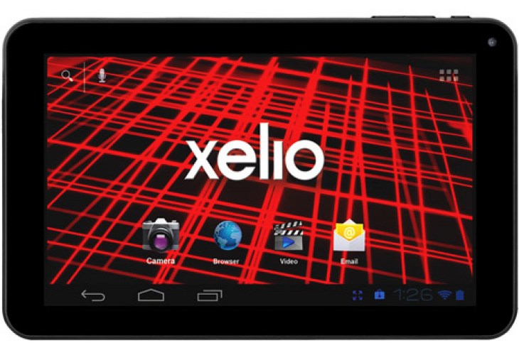 Xelio tablet in favorable review assembly