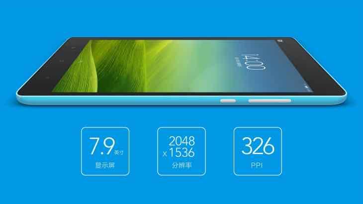 Xiaomi Mi Pad tablet specs