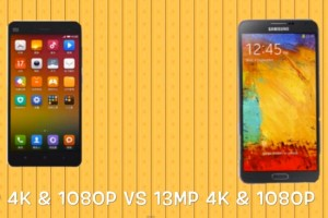 Xiaomi Mi4 vs. Galaxy Note 3 and OnePlus One