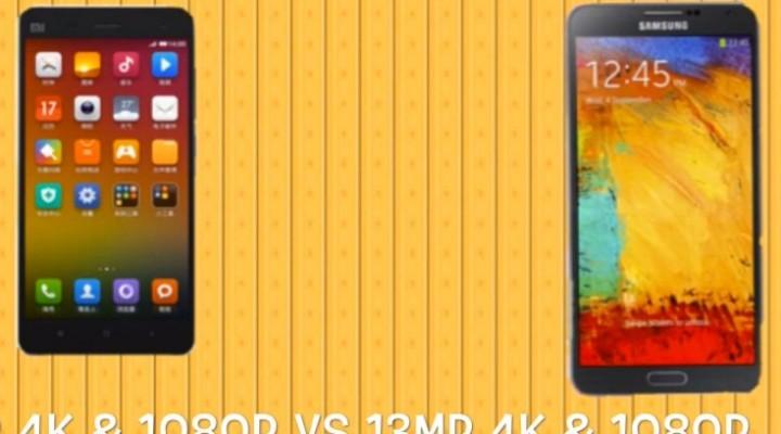 Xiaomi Mi4 vs. Galaxy Note 3 and OnePlus One