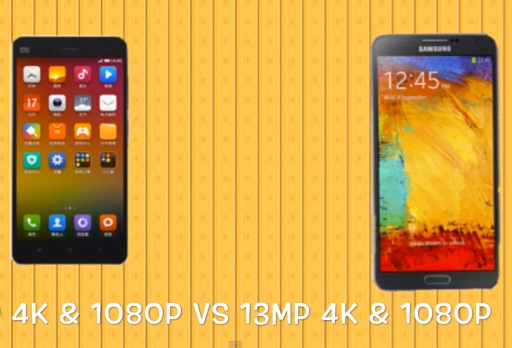 Xiaomi Mi4 vs. Galaxy Note 3