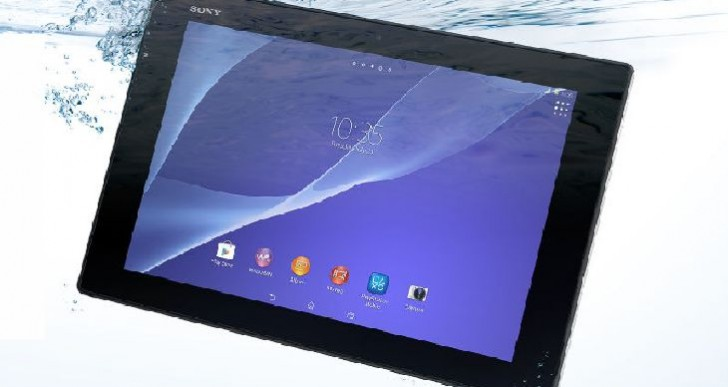 Sony Xperia Z2 tablet vs. iPad Air