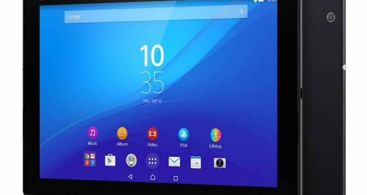 Xperia Z4 tablet features boast from Sony