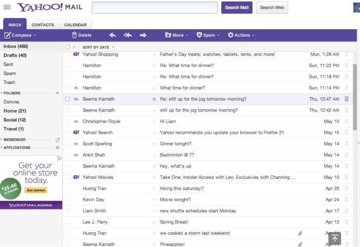 Yahoo Mail encryption sign in