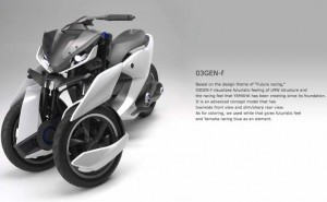 Yamaha Tricity 03GEN-f, 03GEN-x concepts for new markets