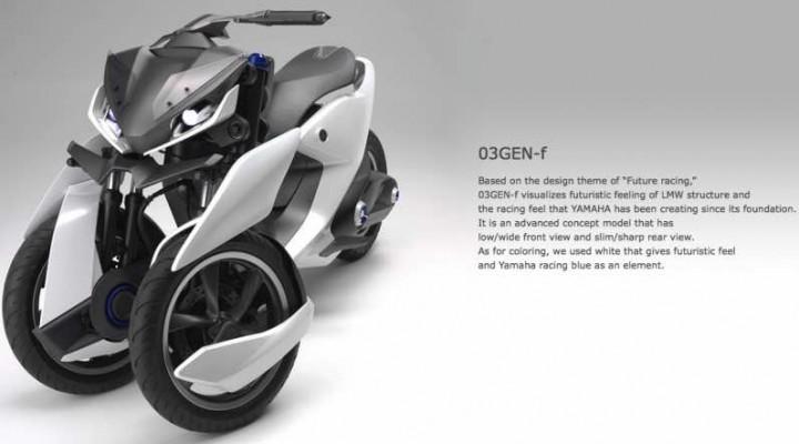 Yamaha Tricity 03GEN-f, 03GEN-x concepts for new markets