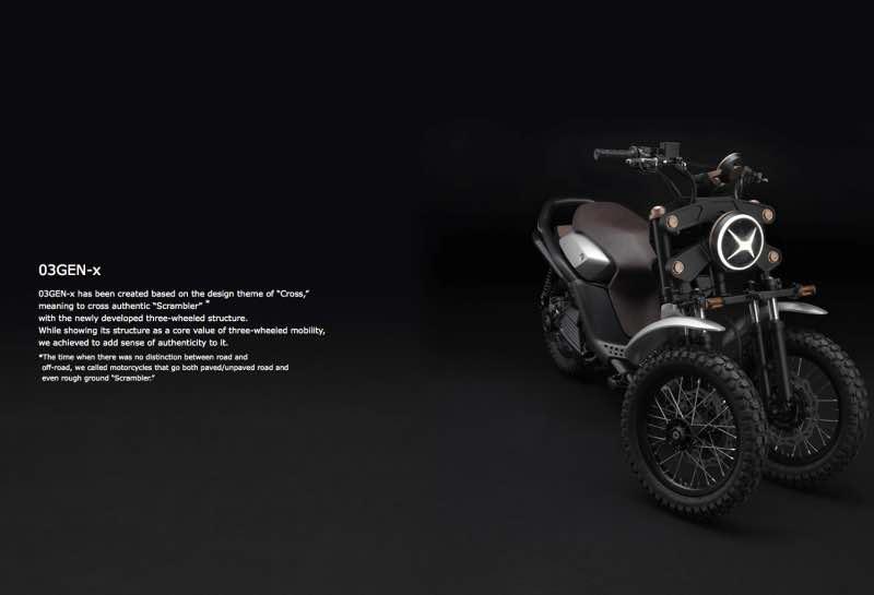 Yamaha Tricity 03GEN-x concept