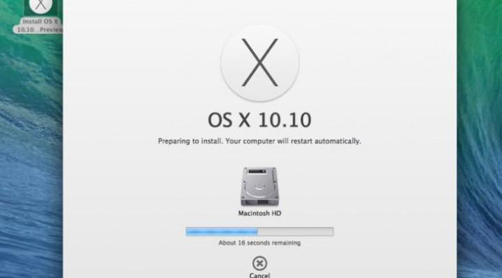 Yosemite USB installer that's bootable