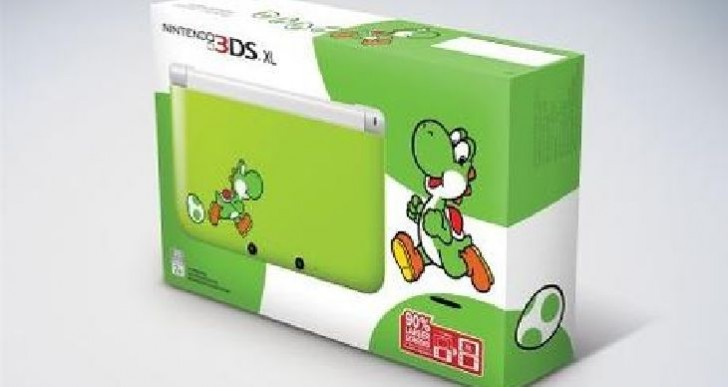 Exclusive Yoshi's New Island 3DS XL bundle coming