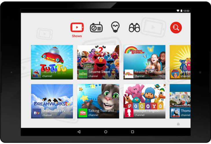 YouTube for Kids Android app