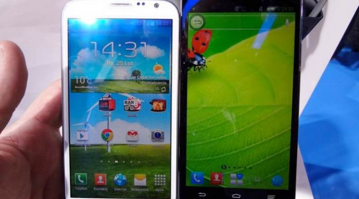 ZTE Grand Memo vs. Galaxy Note 2 quick visual reviews