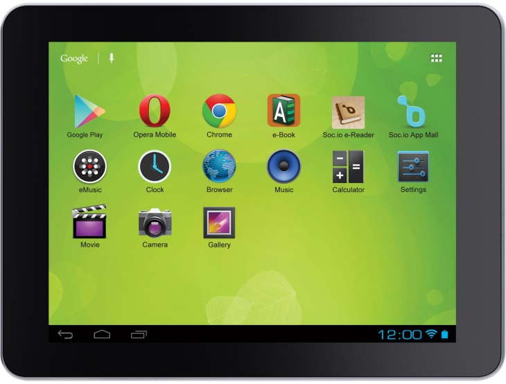 Zeki TBDG874B 8 Android tablet