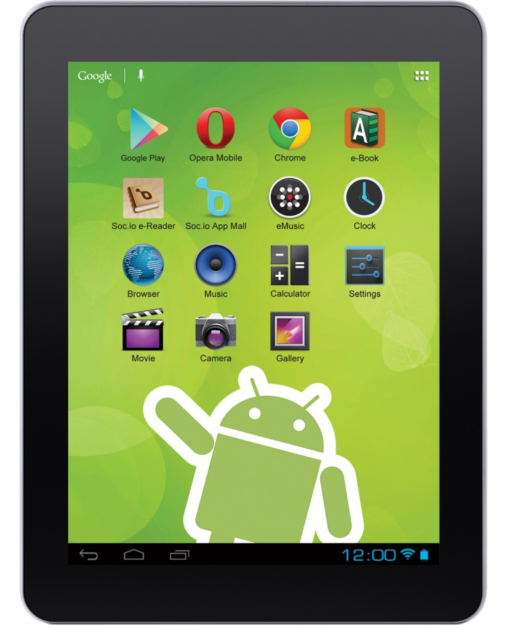 Zeki TBDG874B Android tablet