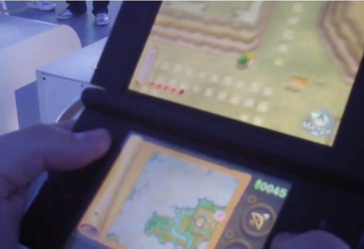 The Legend of Zelda: A Link Between Worlds new gameplay