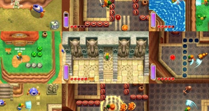 Zelda A Link Between Worlds caters to hardcore