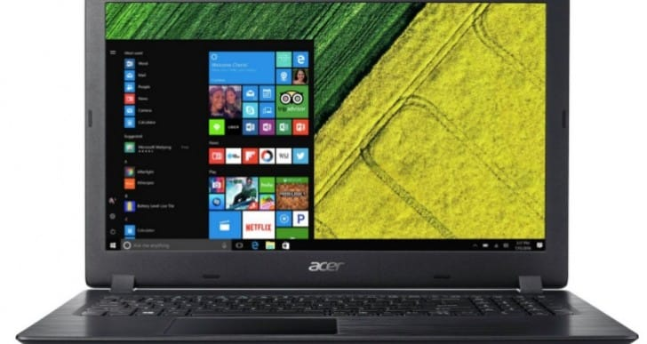 Acer 15.6 Inch i3 4GB 1TB Laptop reviews positive for 2017