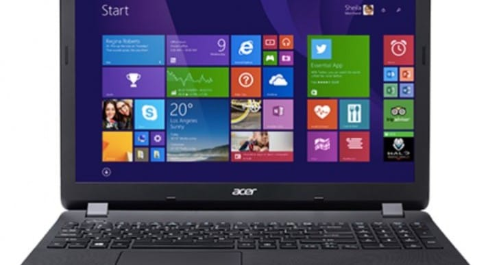 Acer ES1-5311 15.6-inch laptop specs at Tesco misleading