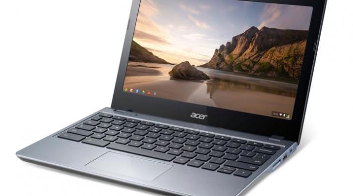 Acer Chromebook C720 features Haswell, great battery
