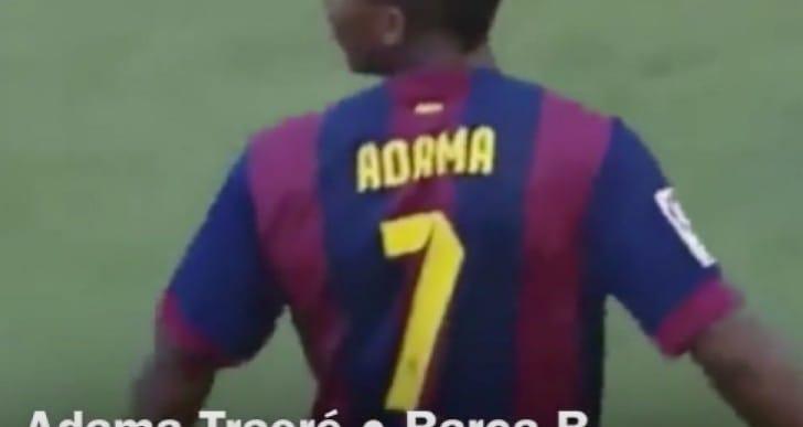 Adama Traore Liverpool FC stats on FIFA 16
