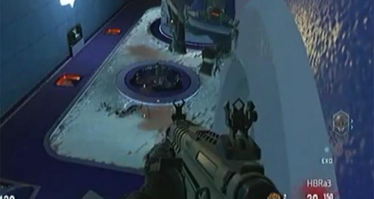 COD AW Descent map glitches for invincibility