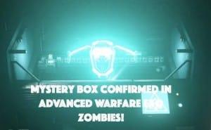 Advanced Warfare Zombies mystery box evidence from SRVR:ATLAS