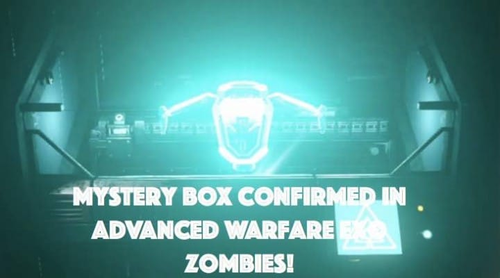 Advanced Warfare Zombies mystery box evidence from SRVR:ATLAS