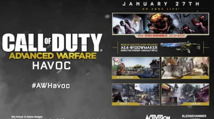 Advanced Warfare Havoc DLC release date for PS4, PS3