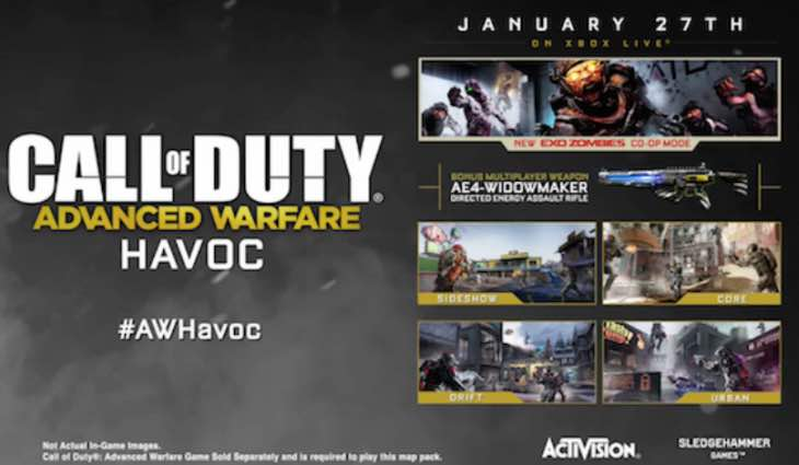 advanced-warfare-havoc-dlc-release-time