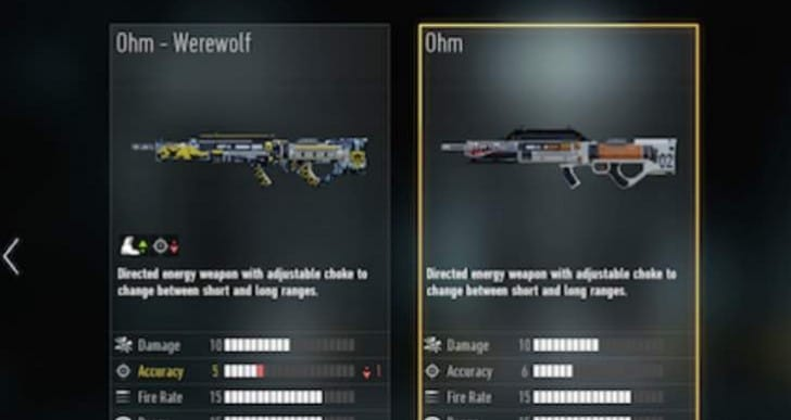 Advanced Warfare Xbox One update notes with ASM1 nerf