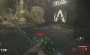 Pack a Punch clues in Advanced Warfare Zombies?