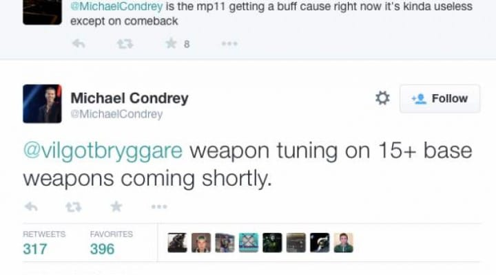 New Advanced Warfare weapons update with SN6 buff
