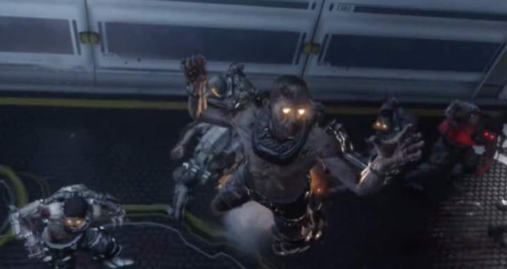 Advanced Warfare Exo Zombies gameplay shows jetpack
