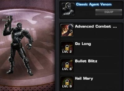 Agent Venom has a nasty surprise waiting for you..