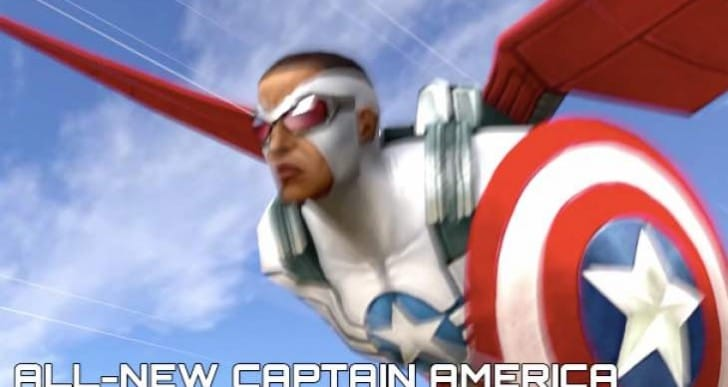 Future Fight update for Iron Patriot, All-New Captain America