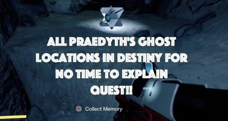 Destiny Praedyth's Ghost Locations, Cult in Paradox