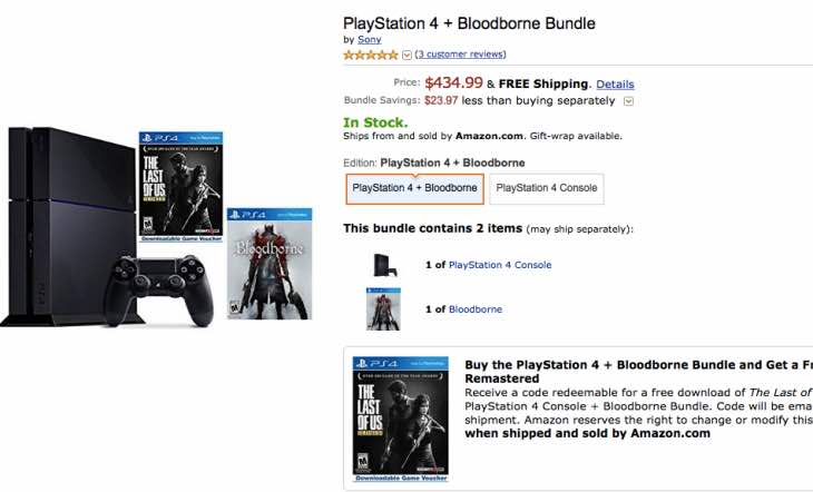 amazon-bloodborne-ps4-bundle-price