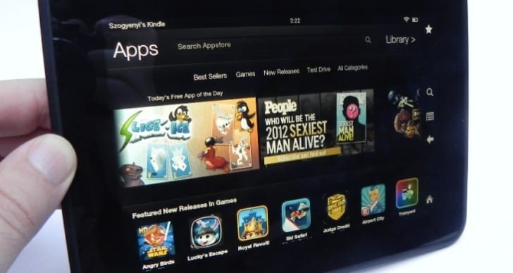 Amazon Kindle Fire HD 7″ 16GB Tablet still a hit with fans