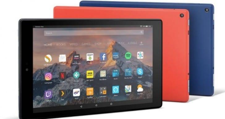 Amazon Fire HD 10 tablet with iPad Pro boast