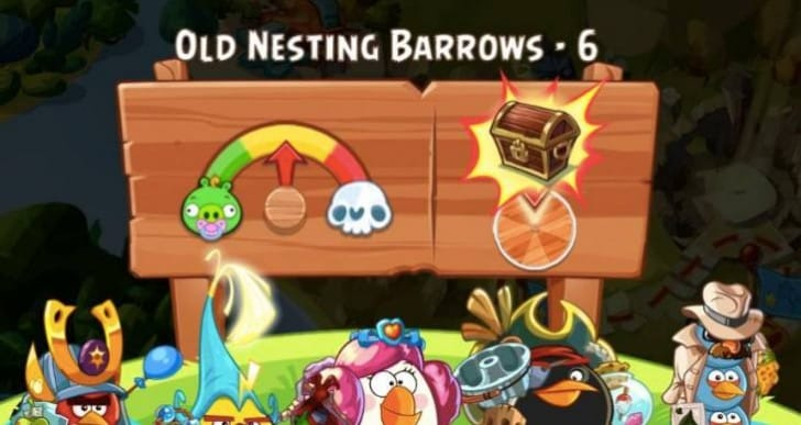 Angry Birds Epic desire to level up fast