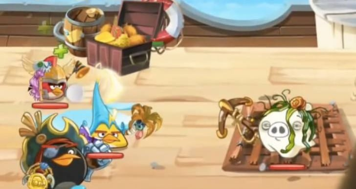 Angry Birds Epic secret levels with Poseidon Pig