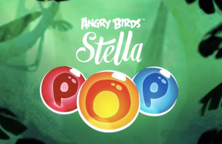 Angry Birds Stella Pop for iPhone and Android