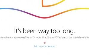 Apple iPad Air 2 Event start time worldwide